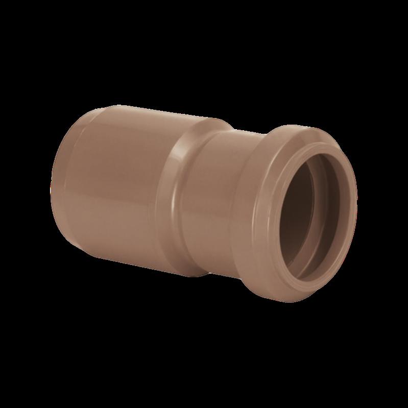Redução PVC PBA Ponta Bolsa de 85mm x 60mm com Anel