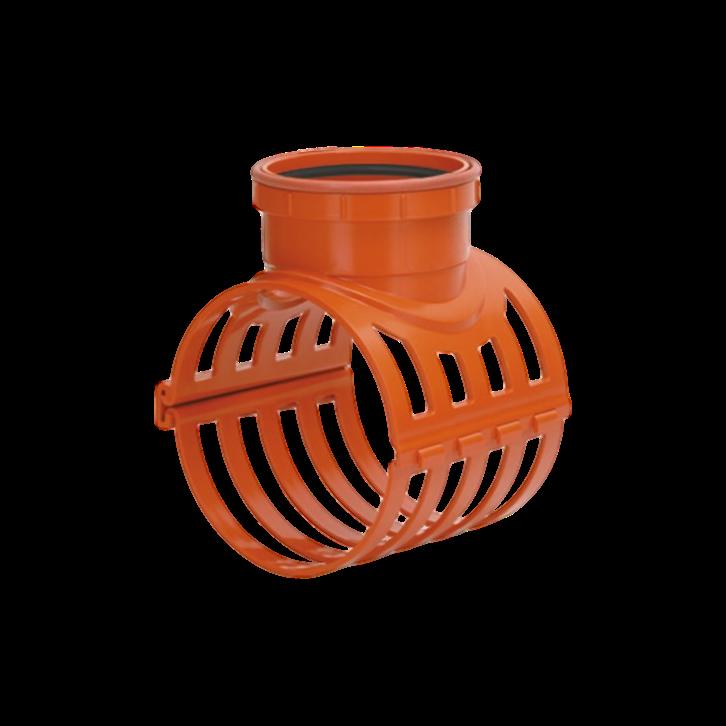 Selim PVC Ocre Elástico com Travas de 150mm x 100mm
