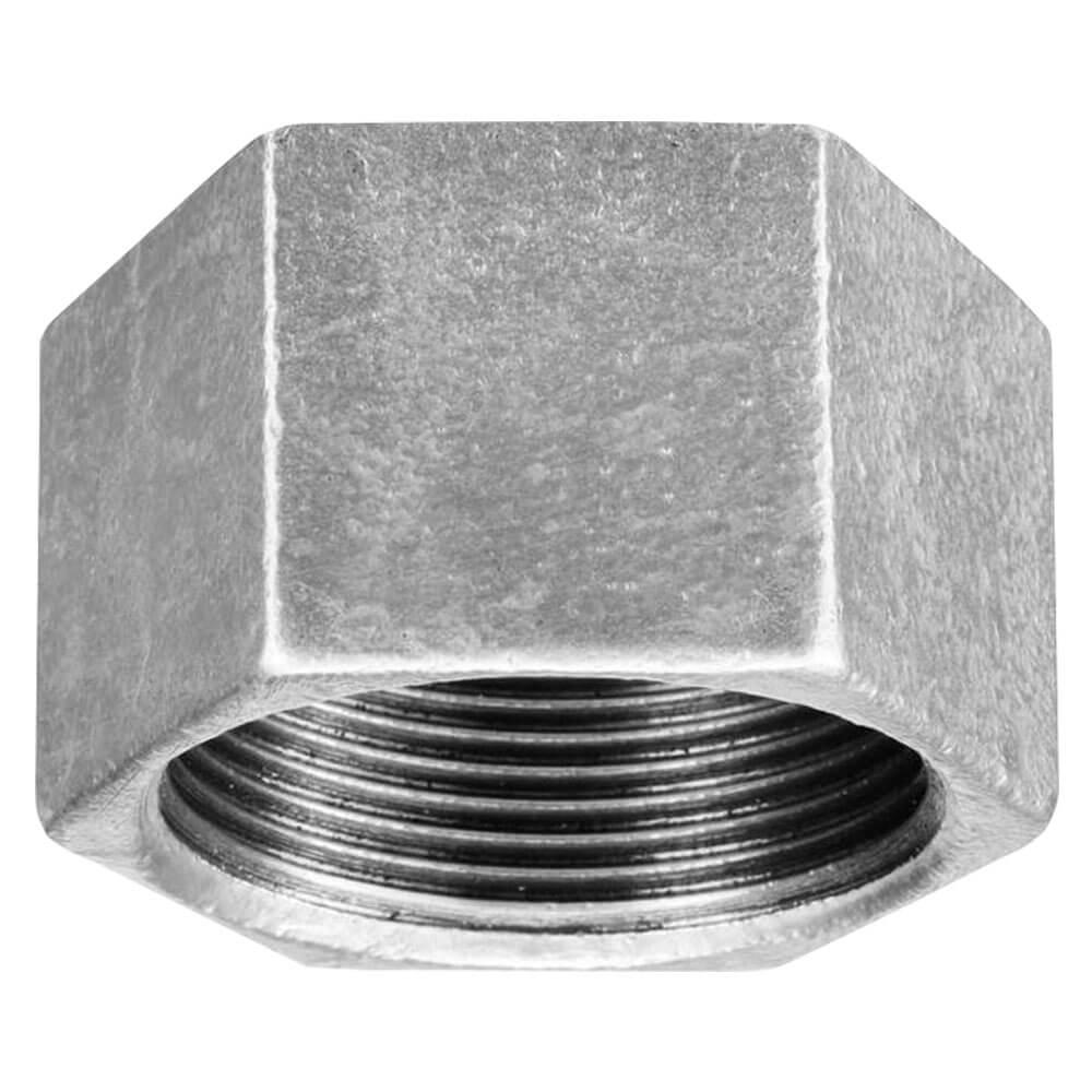 Tampão Cap Galvanizado de 3/4 polegada