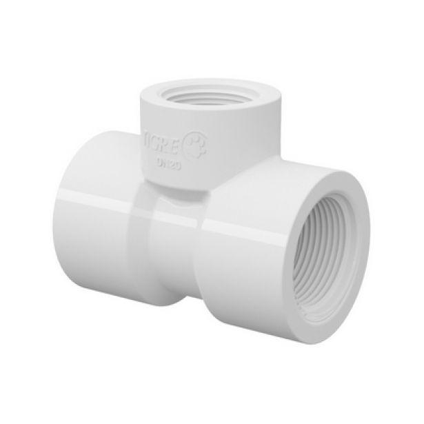 TE PVC Roscável com Redução de 1'' x 3/4'' Tigre