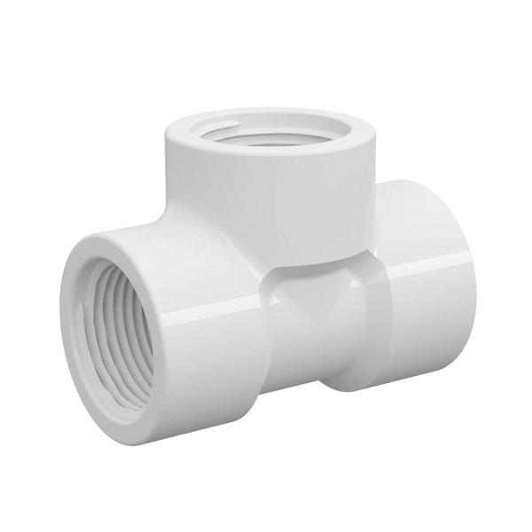 TE PVC Roscável de 1/2 Polegada