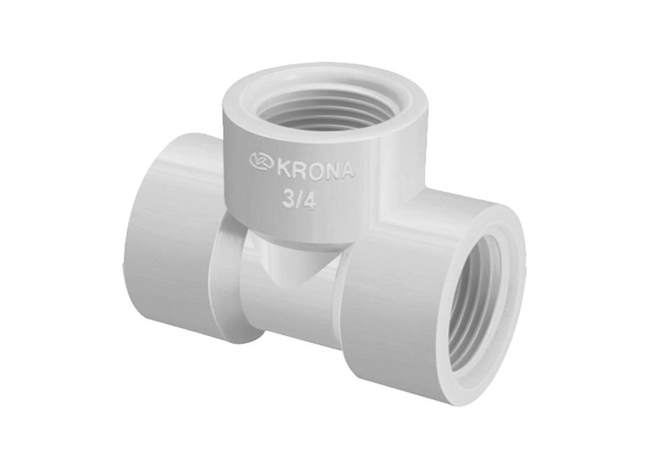 TE PVC Roscável de 1/2 Polegada (Kit 80pçs)