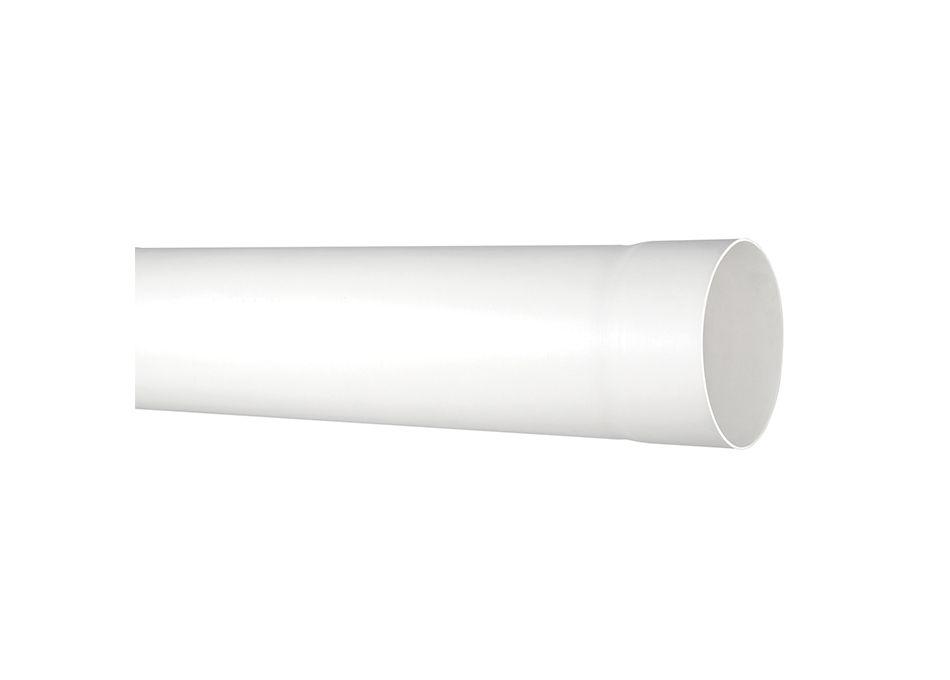 Tubo Cano PVC Esgoto Branco de 40mm Barra 6 Metros