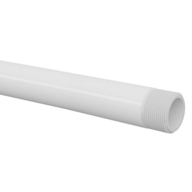 Tubo Cano PVC Roscável de 1'' Barra 6 Metros