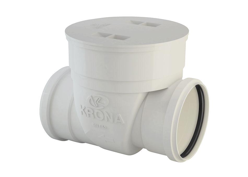 Válvula de Retenção Horizontal PVC Esgoto 100mm