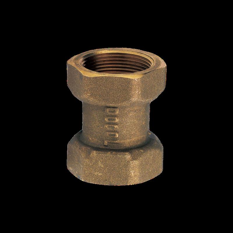 Válvula de Retenção Universal em Bronze de 1 Polegada