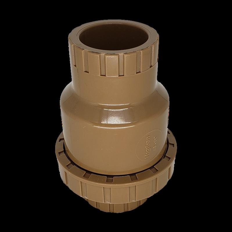 Válvula De Retenção Universal em PVC Soldável Cola de 50mm