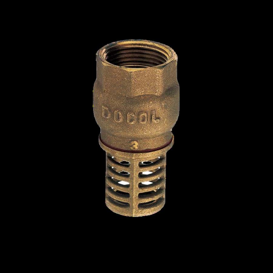 Válvula de Sucção PE com Crivo Poço Bronze de 2.1/2