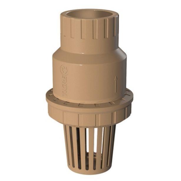 Válvula de Sucção PVC Pé Com Crivo Poço Soldável de 40mm