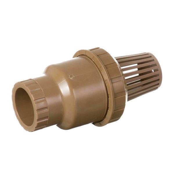 Válvula de Sucção PVC Pé Com Crivo Poço Soldável de 50mm