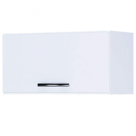 Armário Aéreo de Cozinha 1 Porta Branco Brilho - AJL