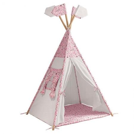 Cabana Tenda Infantil Casinha e Led - Móveis Estrela