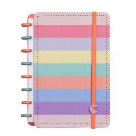 Caderno Inteligente Arco-Íris Pastel A5 CIA52060