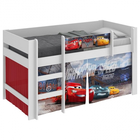Cama Infantil Carros Disney Play com Led - Pura Magia