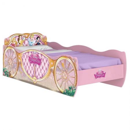 Cama Infantil Princesas Disney Star Rosa 8A - Pura Magia