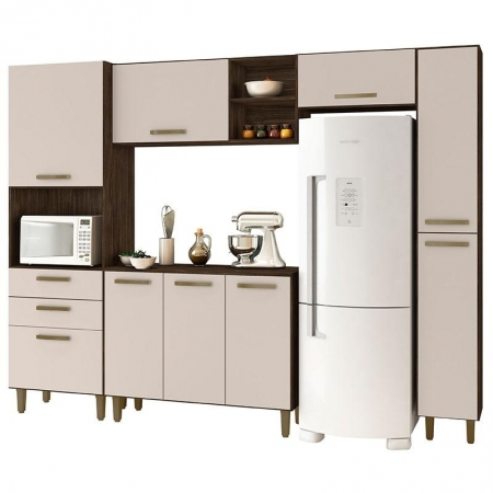 Cozinha Antonella Teka Champanhe - Incorplac