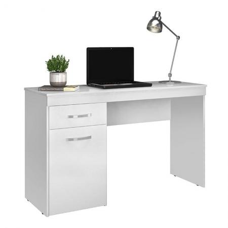 Escrivaninha Vitória Branco Brilho - Demóbile