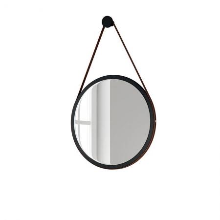 Espelho Decorativo Para Sala de Estar 54cm Preto - HB Móveis