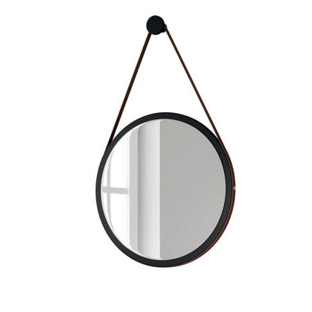 Espelho Decorativo Para Sala de Estar 67cm Preto - HB Móveis