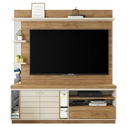 Estante Home Theater Átrio Buriti Off White - Caemmun