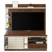 Estante Home Theater Átrio Havana Off White - Caemmun