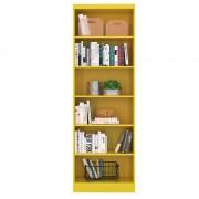 Estante para Livros Linus 1404 Amarelo - Qmovi