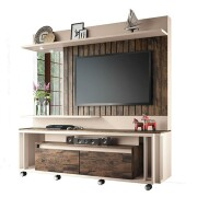 Home Theater Eclipse Off White Deck - HB Móveis