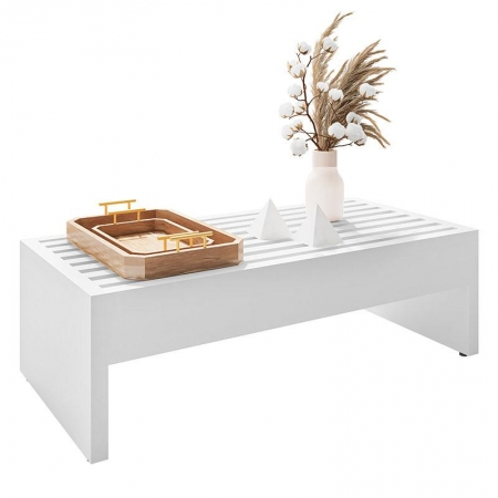 Mesa de Centro Ripped Branco - HB Móveis