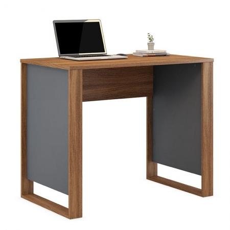 Mesa para Computador Morada Amêndola Grafito - Demóbile