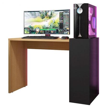 Mesa para Computador Up Freijó Preto - HB Móveis