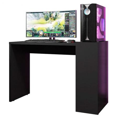 Mesa para Computador Up Preto - HB Móveis