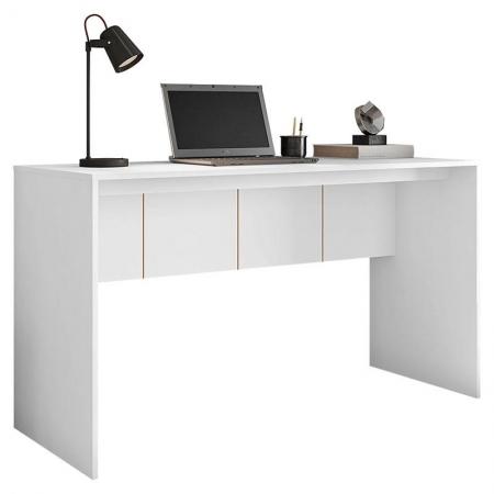 Mesa para Escritório Cubic 1360 Branco - Caemmun