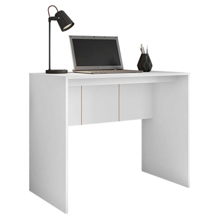 Mesa para Escritório Cubic 900 Branco - Caemmun
