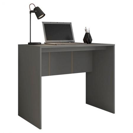 Mesa para Escritório Cubic 900 Chumbo - Caemmun