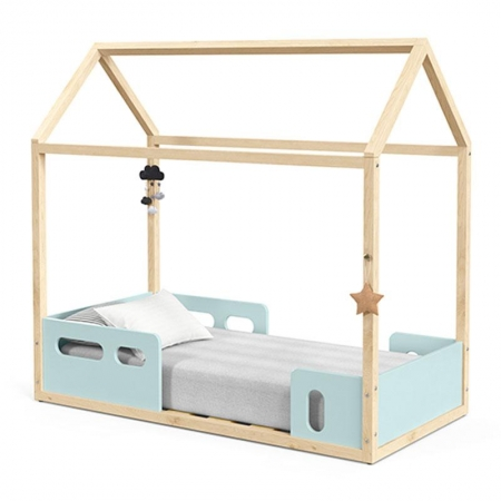 Mini Cama Montessoriana Liv Menta Natural - Matic
