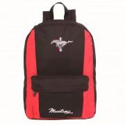 Mochila Escolar Ford Mustang Preto e Vermelho 11402 - Dermiwil