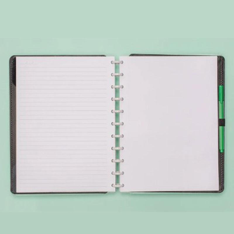 Caderno Inteligente Verde Pastel Grande CIGD4082