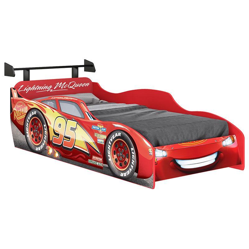 Cama Infantil Carros Disney Star com Aerofólio 7A - Pura Magia