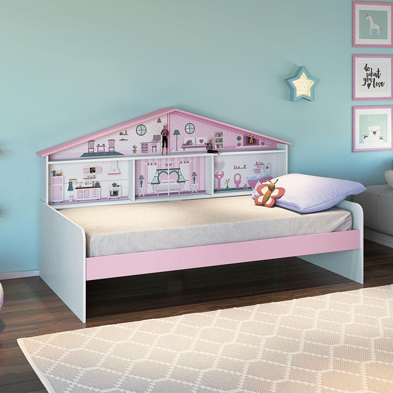 Cama Infantil Casa de Boneca Diversão - Pura Magia