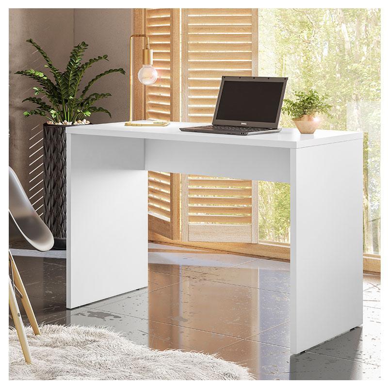 Escrivaninha Office Presence Branco Brilho - Demóbile