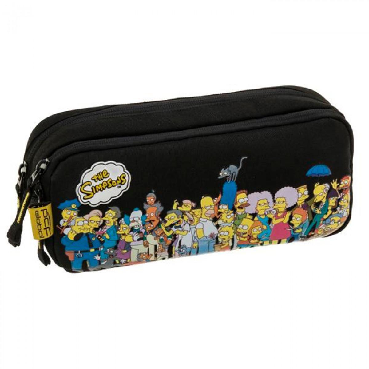 Estojo Escolar Simpsons 13658-1 - PCF