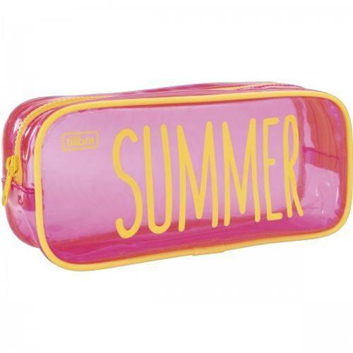 Estojo Escolar Summer Neon 276355 - Tilibra