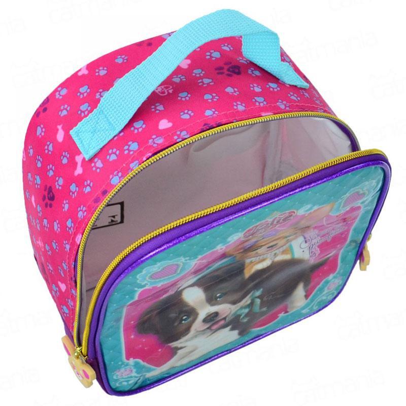 Lancheira Escolar Jolie Cachorro 162574 - Tilibra