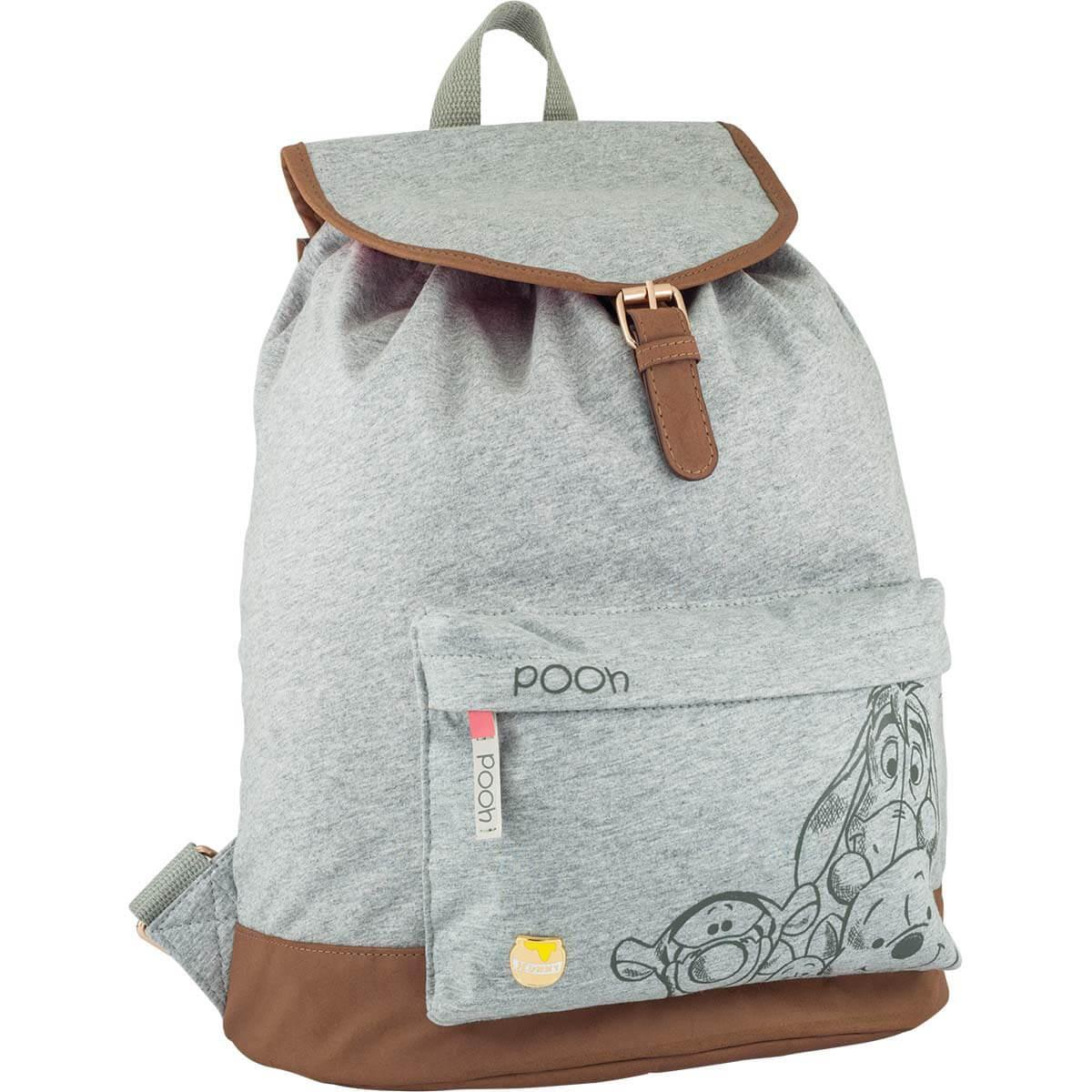 Mochila Escolar Pooh 146023 - Tilibra