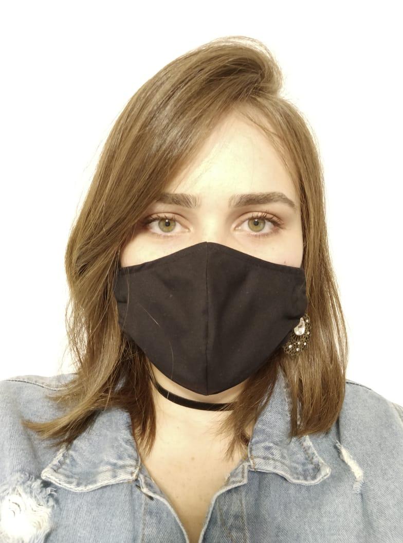 Máscara Reutilizável PRETA