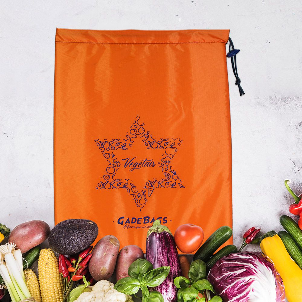 Saco para alimentos  térmico  Vegetais