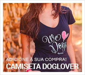 Camiseta feminina Doglover