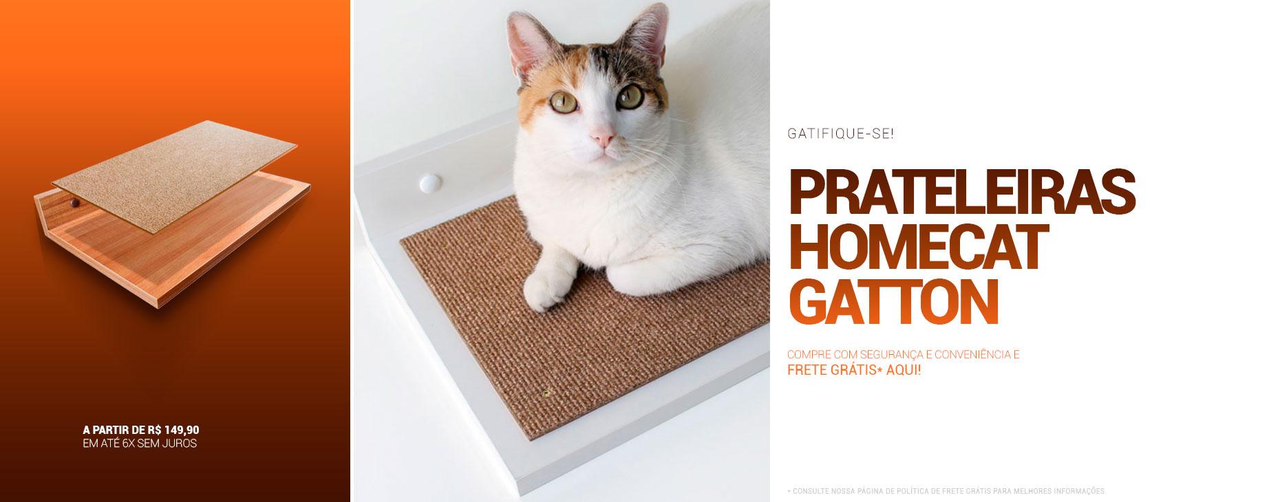 Prateleira Homecat Gatton