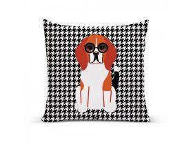 Almofada com Capa Personalizada Beagle
