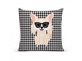 Almofada com Capa Personalizada Chihuahua